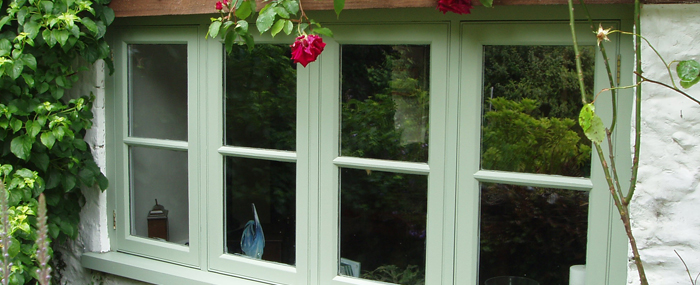 Wooden casement window by Traditional Windows